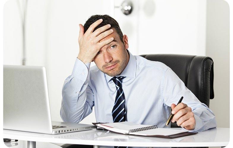 Предприниматель в раздумьях о надвигающихся налогах